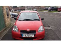 Toyota Yaris ideal for a first car