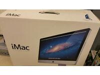 iMac 27inch in box