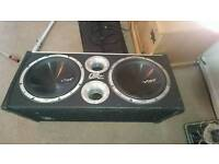Vibe CBR12 twin subwoofer