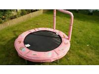Child's outdoor trampoline