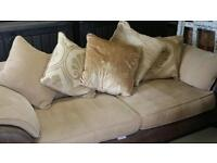 3 seater sofa barker and stone house, REDUCED