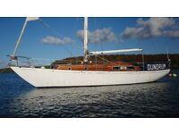 38'7 McGruer Cruising yacht- gorgeous, go anywhere, long distance £69500