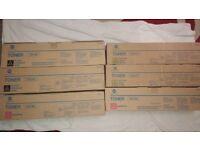 Konika Mintolta Genuine Toner Cartridges TN210K TN210Y TN210M Multipack