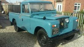 Land rover series 2 ex aa recovery