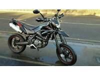 125cc SUPERMOTO KSR MOTO 15 PLATE