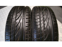 185 55 15 2 x tyres Continental PremiumContact