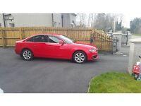 2008 Red Audi A4