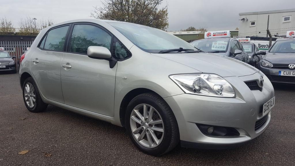 TOYOTA AURIS 1.4 D4D TR 5 DOOR 2009 / 2 KEEPERS / 92K MILES / HPI CLEAR / EXCELLENT CONDITION