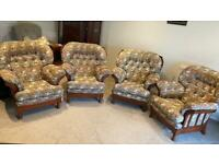 Joynson Holland Armchairs - Set of 4 - Can Sell Individually