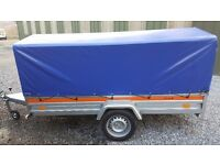 Trailer 8x4 with canopy