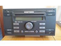 Ford 6000 car radio, CD player