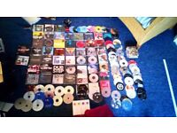 125 cds vast range of genres should all be fine to listen to no longer needed
