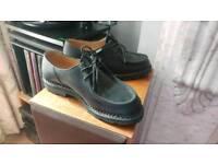 Paraboot Michael in Black 8.5 men handmade shoes