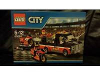 Lego, New..racing motorcycle's set. 60084. Norm £17.99