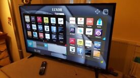 LUXOR 50-inch Smart 4K LED TV,built in Wifi,Freeview PLAY ,Netflix, Fully Working