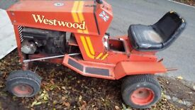 Westwood garden tractor project