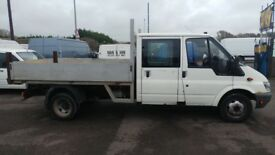 FORD TRANSIT TIPPER 2006 JUST HAD NEW ENGINE FITTED WITH 87K MOT JUNE 1 201