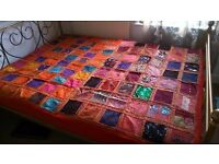 BEAUTIFUL PATCHWORK BEDCOVER