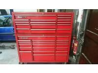 "Snap on 53"" tool box"