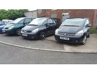 RENAULT ESPACE/SHARAN/GALAXY/ZAFIRA 7 SEATER!!! 1.9 DCI LOW MILES!!!!2005 YEAR, VERY NICE.....