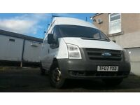Ford Transit 2.4 Rwd Long Wheelbase t350 100bhp 1 year's Mot