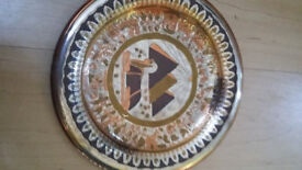 Hand made Egyptian plates. 4 available. Reduced