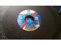 25x PFERD RUGGEBERG Cutting Disk 125x1,0 mm INOX VA 1 Stainless Steel