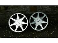 Escort mk4 wheels