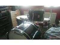 Cheap premier vintage drum kit