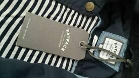 Dark blue spring jacket
