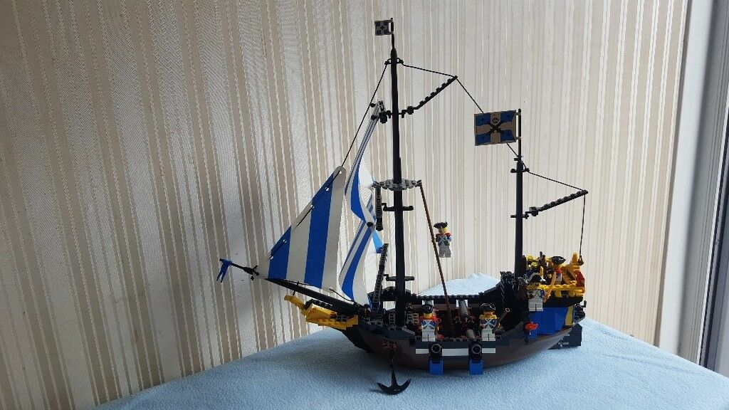 Lego Caribbean Clipper 6274 Soldiers Ship 100 Complete With