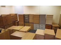 FREE TO COLLECTOR Pedestal Drawer Units Desk Height & Under Desk - Lots Available