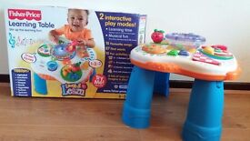 Fisher Price Laugh & Learn Activity Table