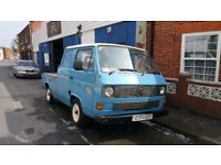 VW T25 T3 Transporter Doka Crewcab Pickup Come Make an Offer