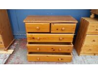 Pine Chest Drawers