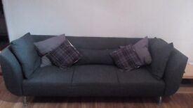 Large Grey 3 seater sofa urgent