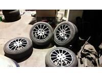 Fiat punto grande wheels