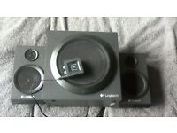 Logitech speakers and sub woofer
