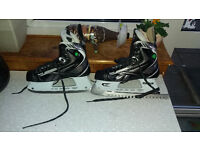 Reebok 16K DSS PUMP Ice Hockey Skates - size 8.5D (Shoe size 9 UK) - Pro skates - pro sharpened