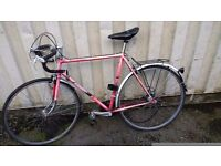 VINTAGE RACER VISCOUNT RACING BIKE 15 SPEED 700 CC WHEELS AVAILABLE FOR SALE