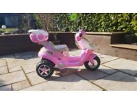 Girls kids power electric scooter