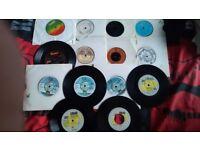 "14 20 7inch vinyl 7"" 80s 90s pop some classics lot kim wilde ub40 earth wind & fire"