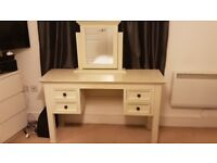 Cream dressing table - SOLD