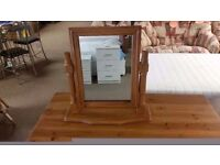 BRAND NEW!!! dressing table mirror solid pine