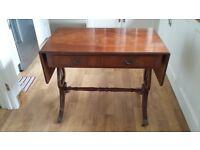 Sofa table reproduction circa 1950s