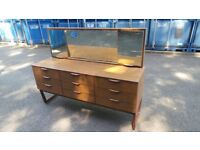 Retro vintage sideboard chest with mirror possible delivery
