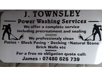 j.townsley Power washing Services