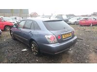 2004 LEXUS IS 200 SPORTCROSS, 2LT PETROL, BREAKING FOR PARTS ONLY, POSTAGE AVAILABLE NATIONWIDE