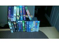 21 kids vhs tapes