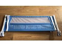 Lindan blue toddler bed guard